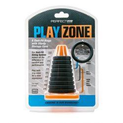 Perfect Fit Play Zone péniszgyűrű készlet (9 db)