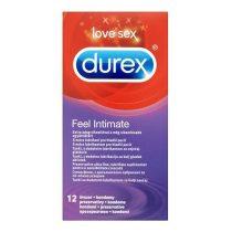 Durex Feel Intimate 12 db extra vékony, extra síkosítású óvszer