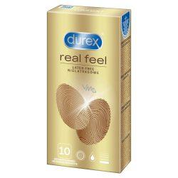Durex Real Feel latex mentes óvszer (10 db)