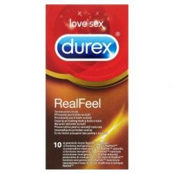 Durex Real Feel latex mentes óvszer (10 db)