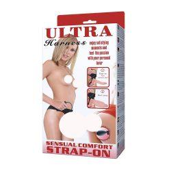 Ultra Harness felcsatolható, felpumpálható dildó