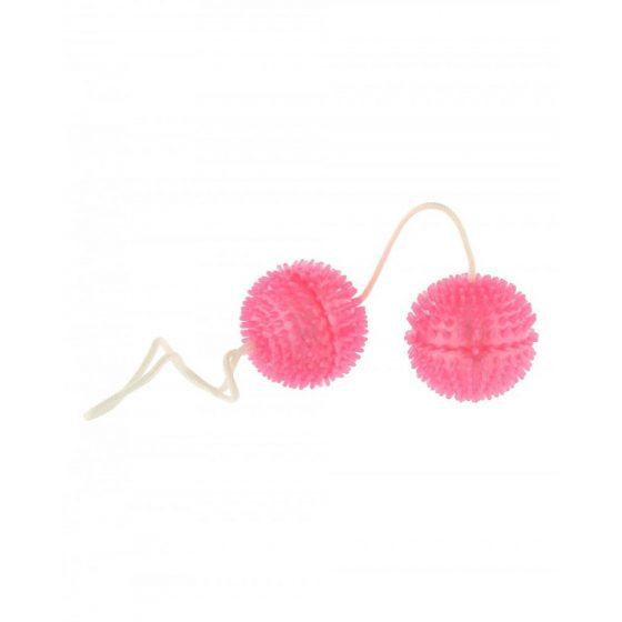 Vibratone Soft Balls puha, tüskés gésagolyó páros