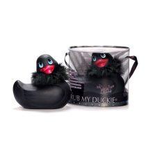 I Rub My Duckie Paris vibrációs kacsa (fekete)