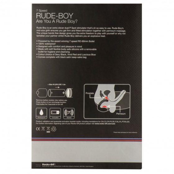 Rocks-Off Rude Boy prosztatadildó és perineum vibrátor