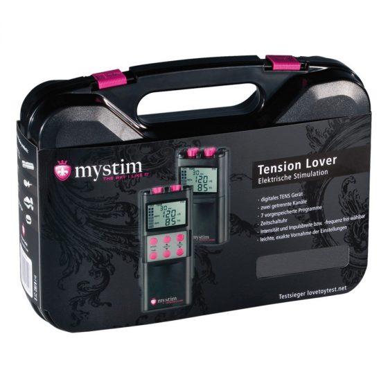 Mystim Tension Lover elektrostimulációs szett, LCD kijelzővel