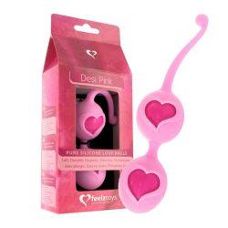 Feelz Toys Desi gésagolyó páros (rózsaszín)