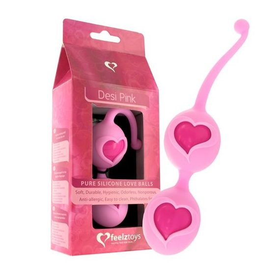 Feelz Toys Desi gésagolyó páros (rózsaszín) !MEGSZŰNT TERMÉK!
