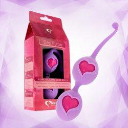 Feelz Toys Desi gésagolyó páros (lila)