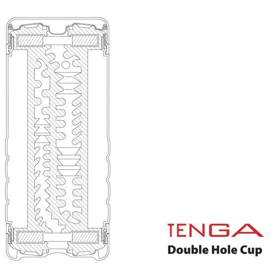 Tenga Double Hole Cup maszturbátor
