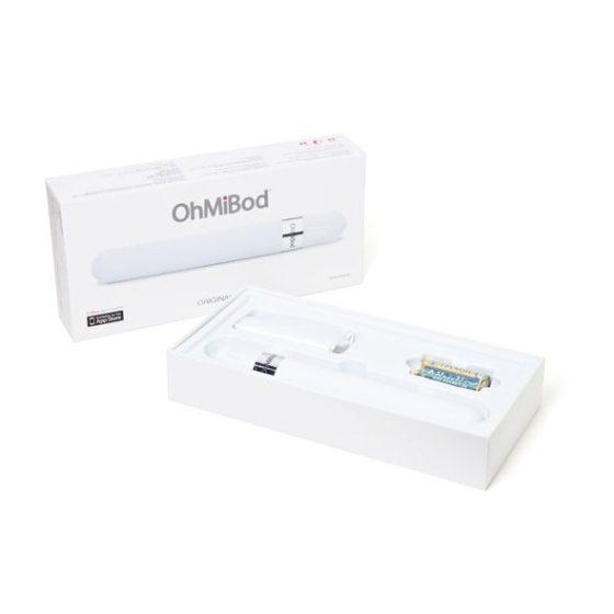 OhMiBod Original 3.0H zenével vezérelhető vibrátor (fehér)