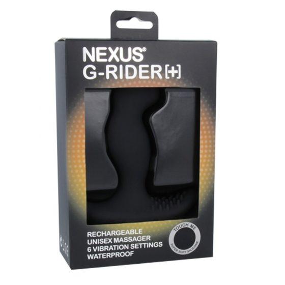 Nexus G-Rider G-Pont dildó vibrációval (fekete)