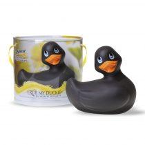 I Rub My Duckie vibrációs kacsa (fekete)