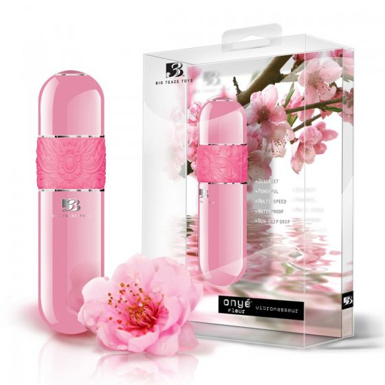 B3 Onye Fleur vibrátor (rózsaszín)