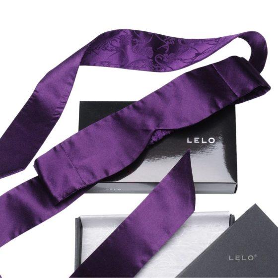 Lelo Intima Silk Blindfold selyem szemtakaró (lila) !MEGSZŰNT TERMÉK!