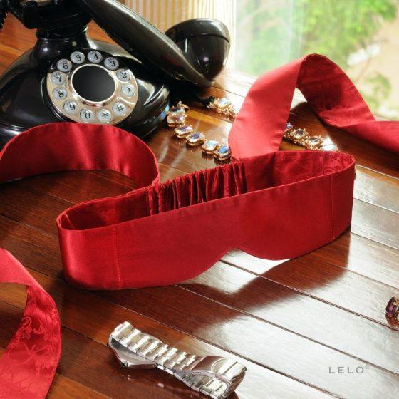 Lelo Intima Silk Blindfold selyem szemtakaró (piros) !MEGSZŰNT TERMÉK!