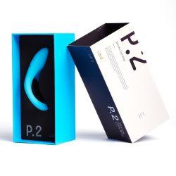 Laid P.2 péniszgyűrű (51,5 mm, kék)