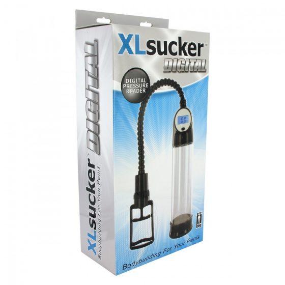 XL Sucker Digital péniszpumpa digitális kijelzővel