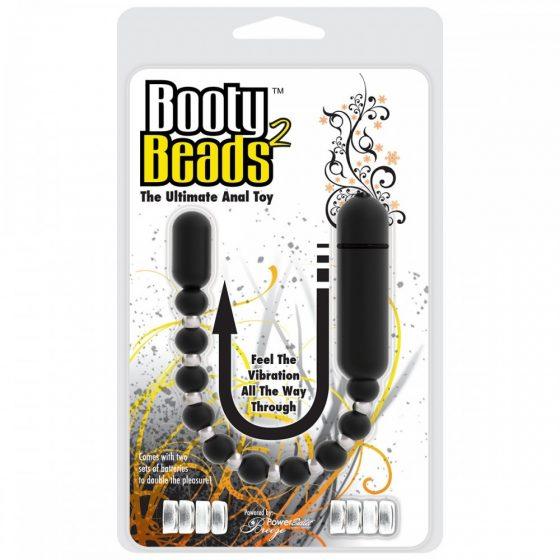 Booty Beads 2 vibrációs anál gyöngysor