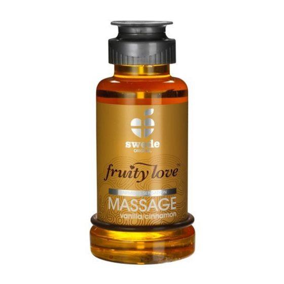 Swede Fruity Love masszázsolaj, fahéj és vanília aromával (100 ml) !MEGSZŰNT TERMÉK!