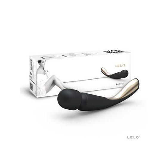 Lelo Smart Wand akkumulátoros masszírozó, közepes méret (fekete)