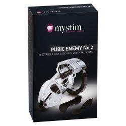 Mystim Public Enemy No2. elektrostimulációs péniszlakat