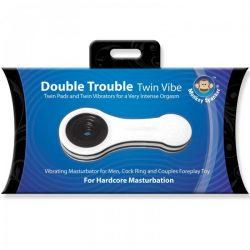 Monkey Spanker Double Trouble vibrációs maszturbátor (dupla)