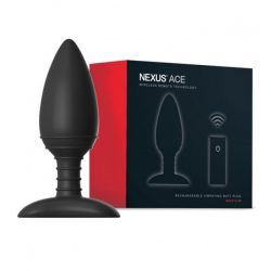 Nexus Ace vibrációs fenékdugó, távirányítóval (M méret)
