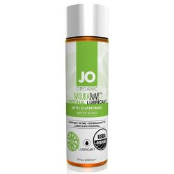 System JO Organic Naturalove vízbázisú síkosító kamillával (240 ml)