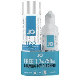 System JO H2O vízbázisú síkosító (120 ml) + tisztitó (50ml)