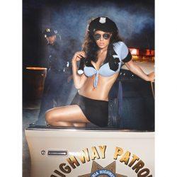 Baci Highway Patrol rendőrnő jelmez