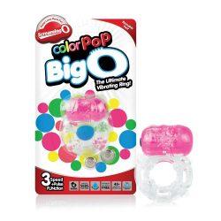 The Screaming O Color Pop Big O vibrációs péniszgyűrű (rózsaszín)