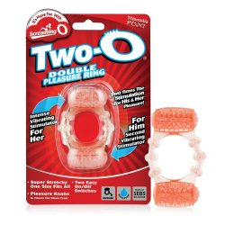 The Screaming O The Two-O dupla vibrációs péniszgyűrű