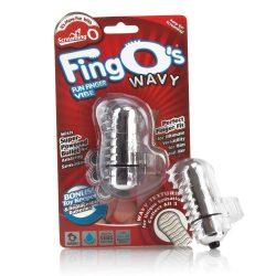The Screaming O The FingO Nubby ujjra húzható vibrátor