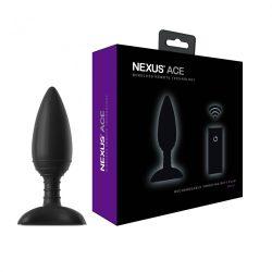 Nexus Ace vibrációs fenékdugó, távirányítóval (S méret)