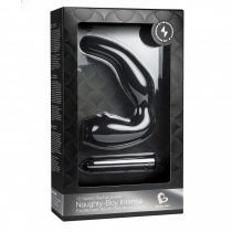 Rocks-Off Naughty Boy Intense akkumulátoros prosztatadildó és perineum vibrátor (fekete)