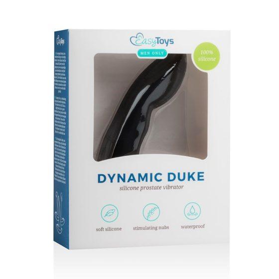 Easy Toys Dynamic Duke csúcsos anál vibrátor (fekete)