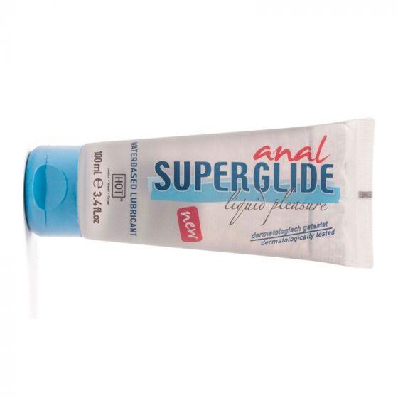 HOT Super Glide Anal vízbázisú síkosító anál használatra (100 ml)