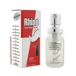 HOT Rhino Long Power ejakuláció késleltető permet (10 ml)
