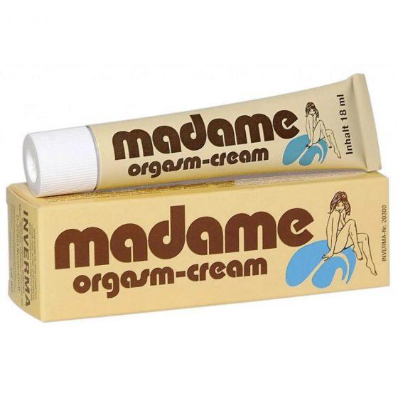 Madame Orgasm Cream klitorisz krém, stimuláló hatással (18 ml)