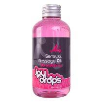 JoyDrops masszázsolaj eper aromával (250 ml)