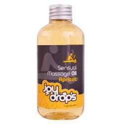 JoyDrops masszázsolaj sárgabarack aromával (250 ml)