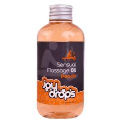 JoyDrops masszázsolaj őszibarack aromával (250 ml)