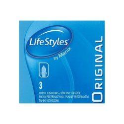 LifeStyles Original 3 db óvszer