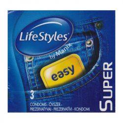 LifeStyles Super 3 db óvszer
