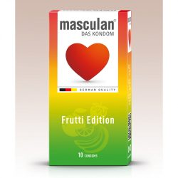 Masculan Frutti Edition ízesített óvszerek (10 db)