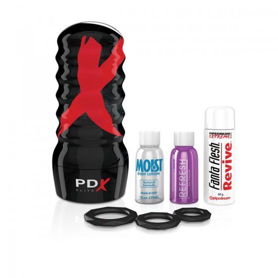 PDX Elite Air-Thight Pussy Stroker maszturbátor (vagina)