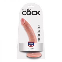 """King Cock 7"""" dildó (18 cm)"""