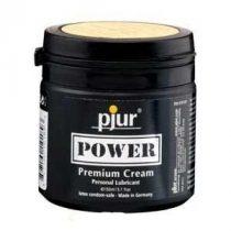 pjur Power Premium Creme vegyesbázisú síkosító krém (150 ml)