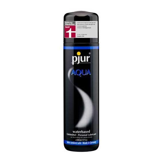 pjur Aqua vízbázisú síkosító (500 ml) !MEGSZŰNT TERMÉK!