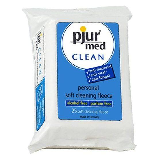 Pjur Med Clean Fleece eszköztisztító kendő (25 db) !MEGSZŰNT TERMÉK!